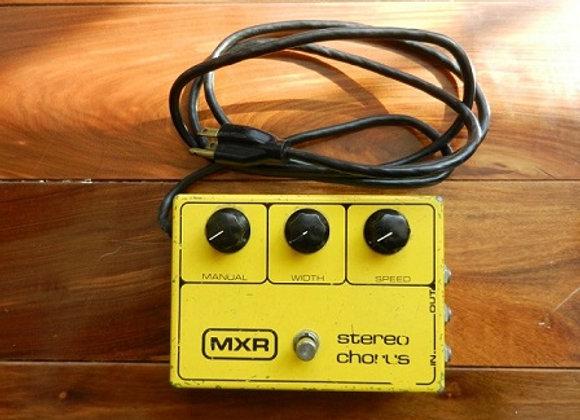 1981 MXR Stereo Chorus