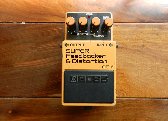 1985 Boss DF-2 Super Feedbacker & Distortion
