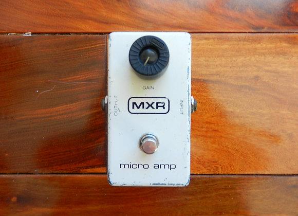 1980 MXR Micro Amp