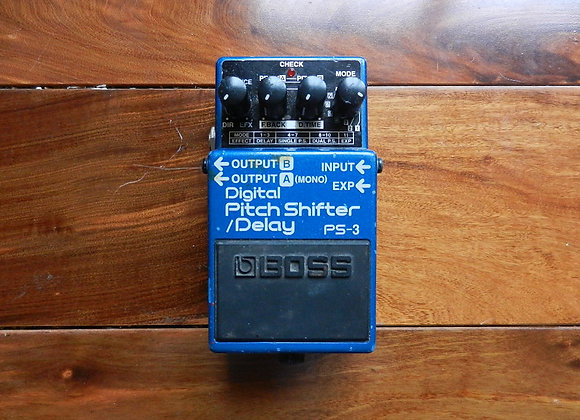 Boss PS-3 Pitch Shifter-Delay