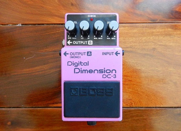 RARE Boss DC-3 Digital Dimension Chorus
