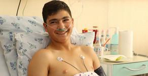 ԱԹՍ-ի հարվածից տուժած 14-ամյա Նարեկի վիճակն արդեն կայուն է