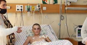 Ադրբեջանական հրետակոծությունից ծանր վիրավորված 13-ամյա Ռոբերտի վիճակն արդեն կայուն է
