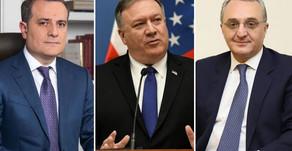 ԱՄՆ պետքարտուղարը Վաշինգտոնում առանձին հանդիպումներ կունենա Հայաստանի և Ադրբեջանի ԱԳ նախարարների հետ