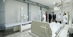 Երևանի պոլիկլինիկաները նոր բուժսարքավորումներ են ստացել. քաղաքապետը ծանոթացել է ծրագրի ընթացքին