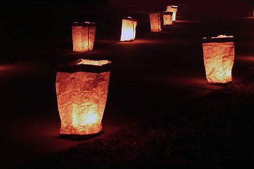 Traditional Luminarias