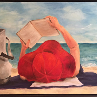 Girl reading beach - Dolly - 2.jpg