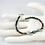 Thumbnail: Larvikite, Freshwater Pearl, and Garnet Strand Bracelet, Black Labradorite Brace