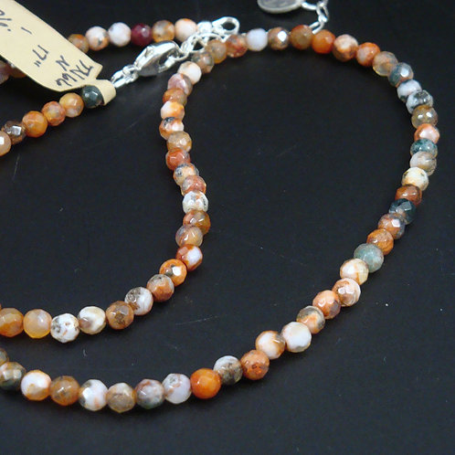 Fire Agate (Dyed) Necklace
