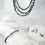 Thumbnail: Freshwater Pearl and Garnet Sterling Silver Earrings