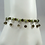 Thumbnail: Set of Three Peridot and Smoky Quartz Stacker Bracelets, Peridot Bracelet, Smoky