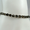 Thumbnail: Set of Three Peridot and Smoky Quartz Stacker Bracelets, Peridot Bracelet, Smoky