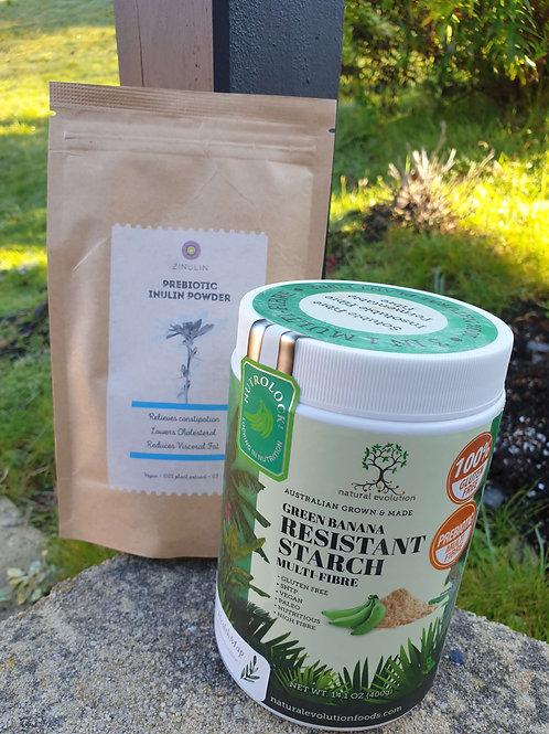 Inulin and Green Banana Powder Pack