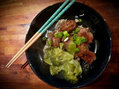 Japanese Ginger Meatballs