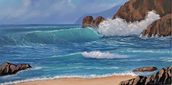 Wave Painting, Steve Myers