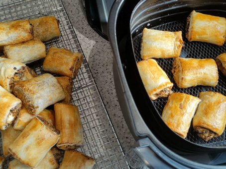 High fibre sausage rolls?
