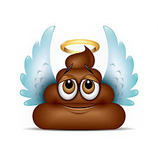 bigstock-Angel-Poo-Emoticon-Emoji--Po-30