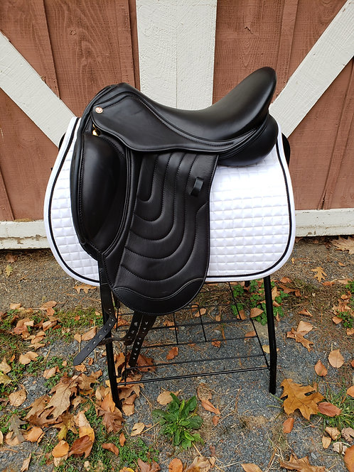 "Comfort Elite Cadence Monoflap Dressage -17"", Adjustable"