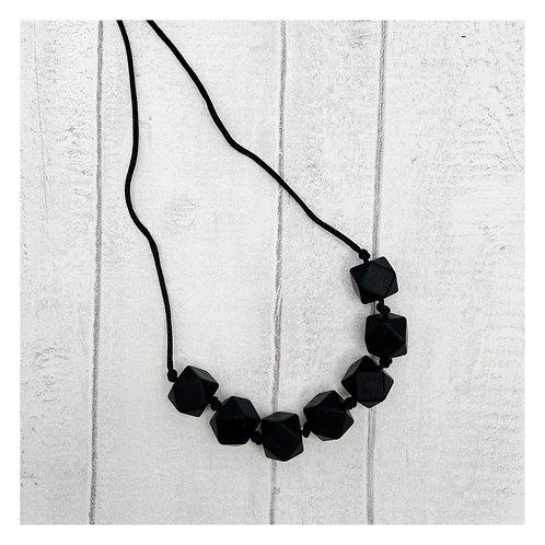 Black Teething Necklace