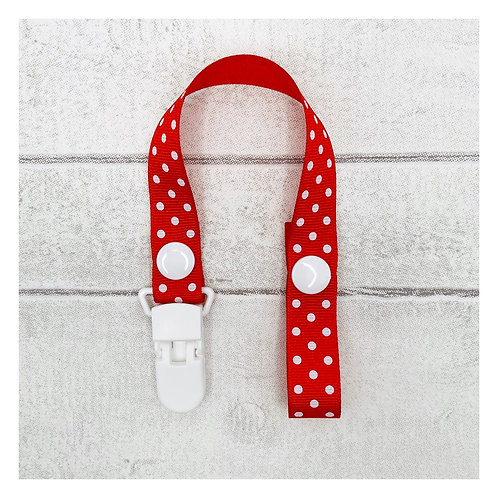 Red Spotty Dummy Chain