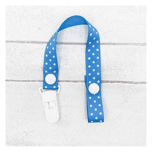 Blue Spotty Dummy Chain