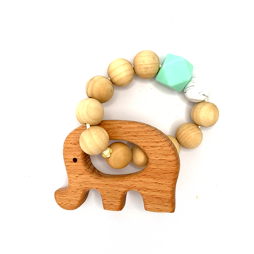 Mint Green Teether