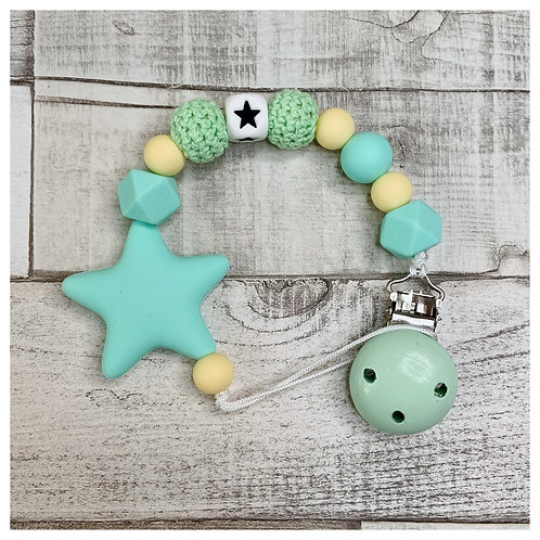 Green And Yellow Star Chain