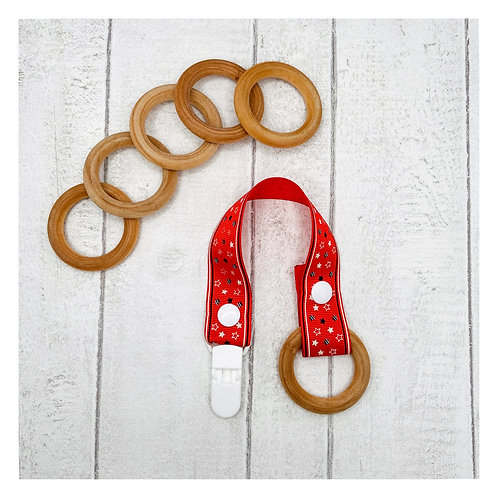 Maple Wood Teething Ring