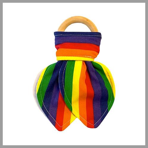 Rainbow Bright Teething Ring