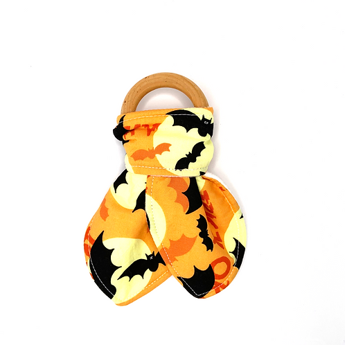 Trick Or Treat Teething Ring