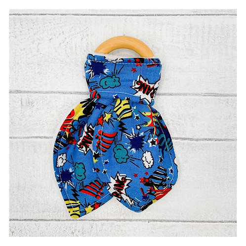Superhero Teething Ring