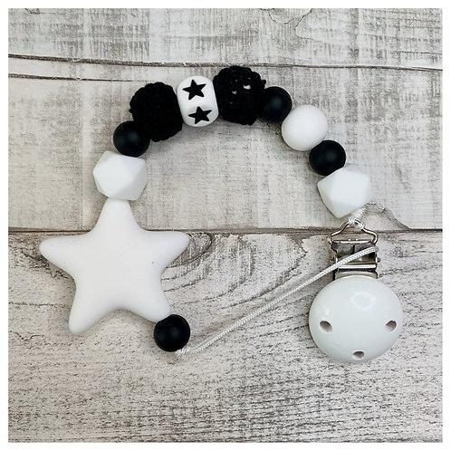 Black And White Star Chain