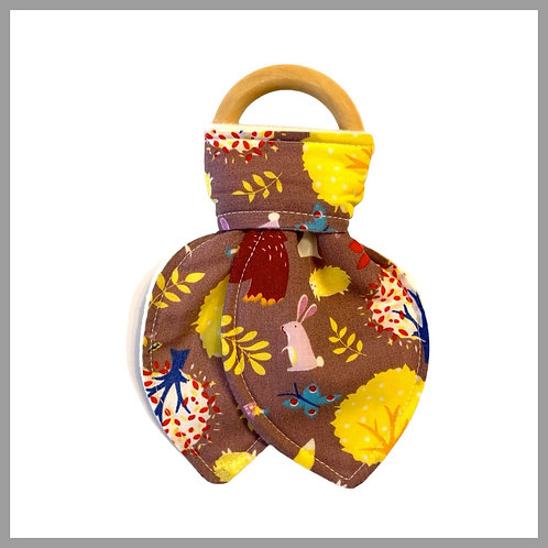 Forest Animals Teething Ring