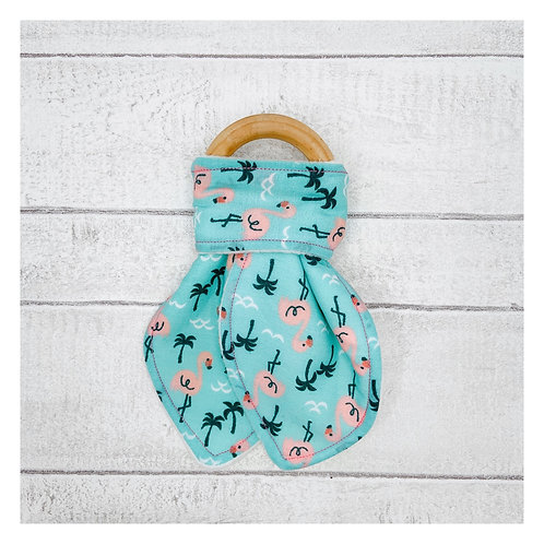 Flamingo Teething Ring