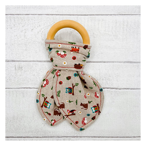 Woodland Teething Ring