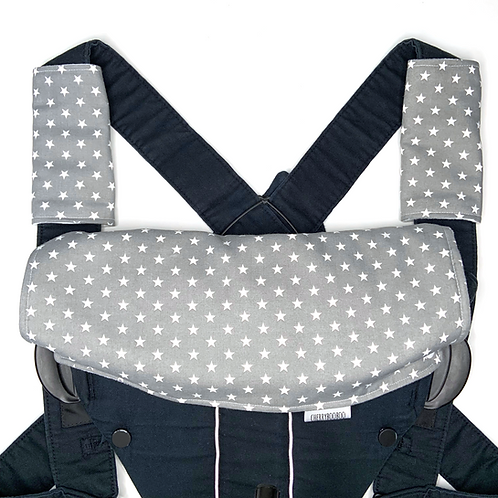 Grey Star Baby Carrier Set