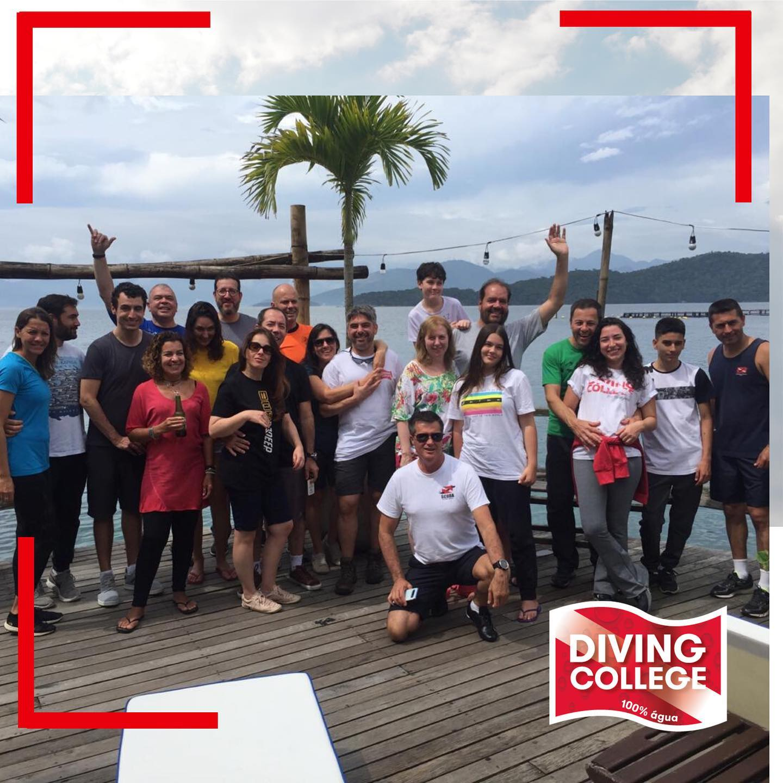 Diving College em Ilha Grande