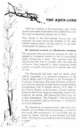 Catálogo Aqualug 1953