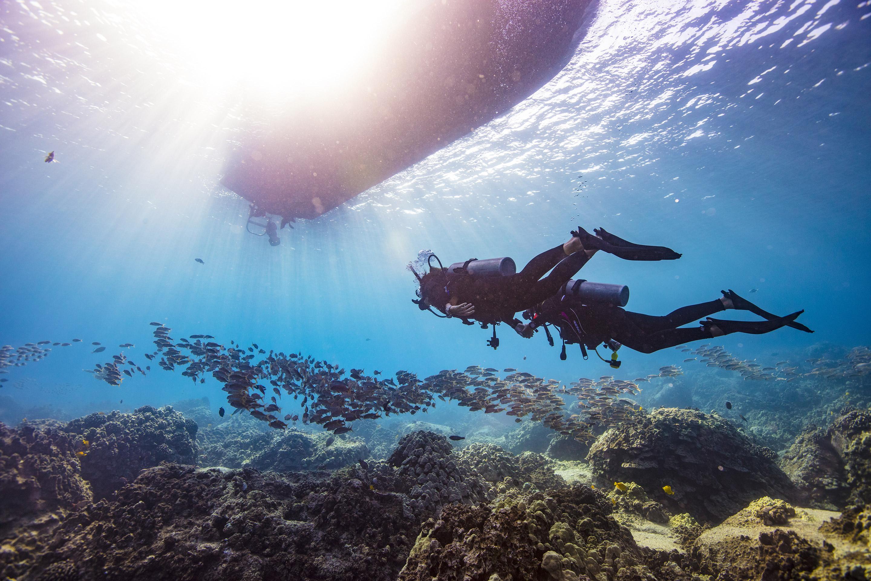 Flutuabilidade Havai Diving College