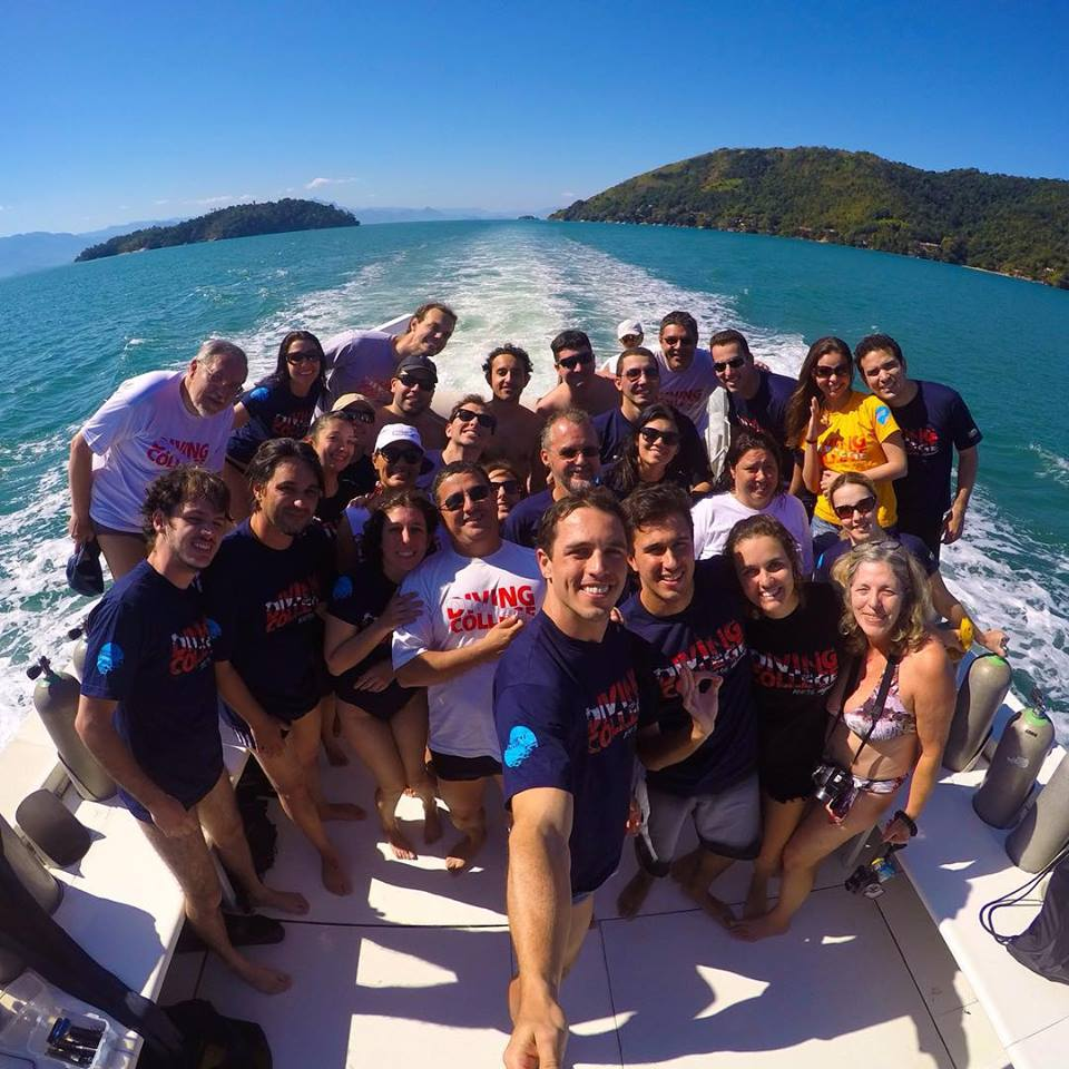 Diving College em Paraty