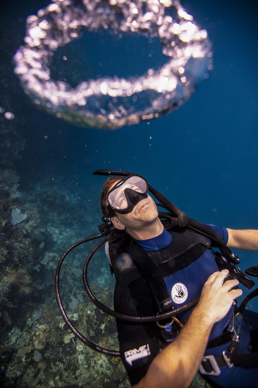Flutuabilidade Utila Diving College