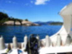 Mergulho em Paraty