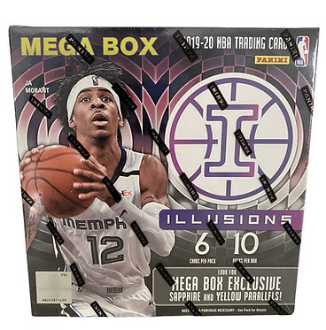 2019-20 Panini NBA Basketball Illusions Mega Box