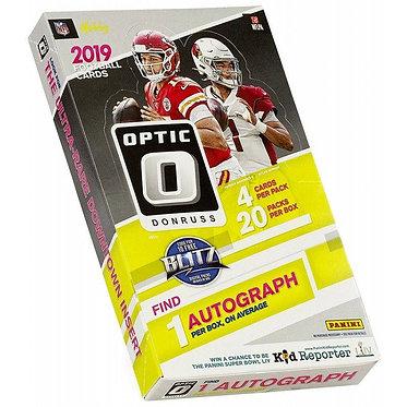 2019 Panini Donruss Optic Football - 4 Card Pack