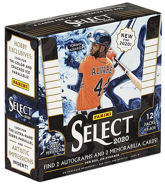 Panini Select 2020 - 5 Baseball Cards