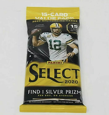 2020 Panini Select Football NFL Cello Value Fat Pack