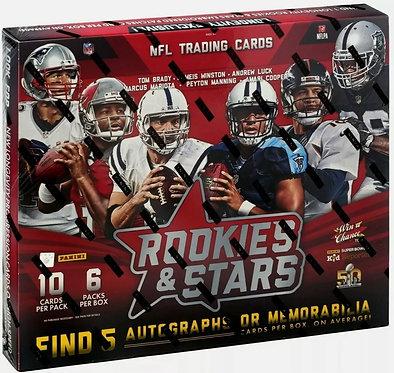 2015 Panini Rookies & Stars Football Hobby Box