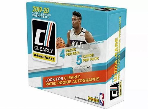 2019-20 Clearly Donruss Basketball Hobby Box
