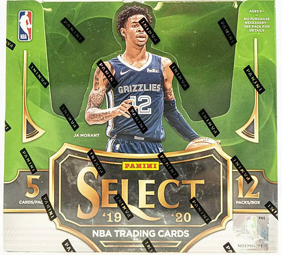 2019/20 PANINI SELECT BASKETBALL HOBBY BOX