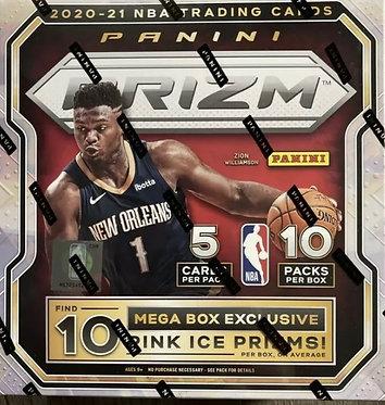 2020-2021 NBA Prizm Basketball Mega Box
